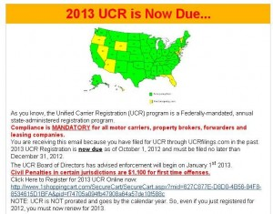 Unified Carrier Registration Dot Csa Insights Success