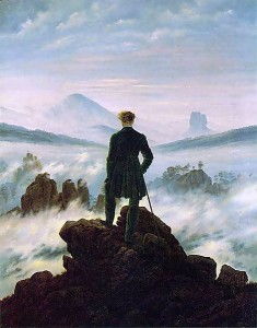 Wanderer in Sea of Fog