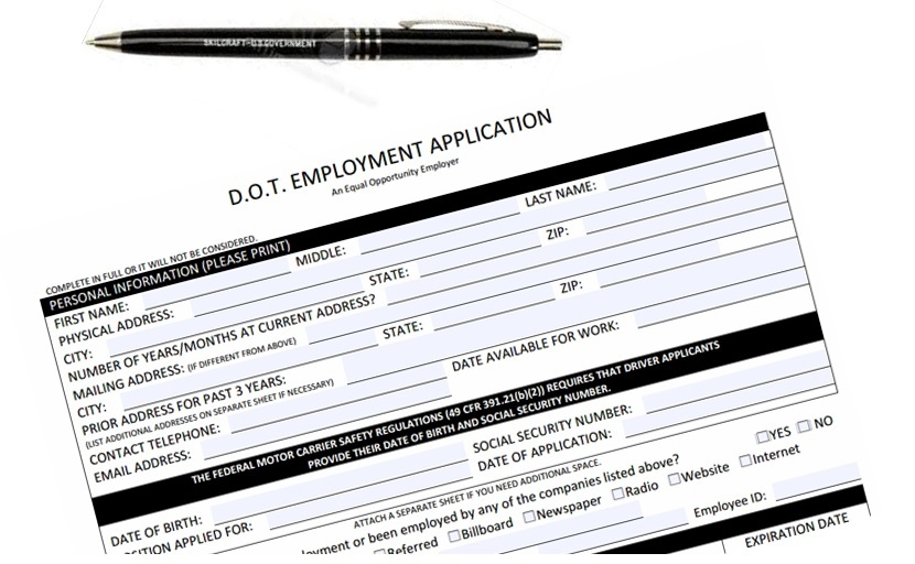 Driver application