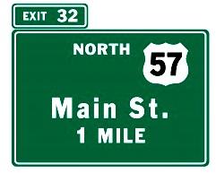 ramp exit